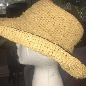 San Diego Hat Co. Ladies Woven Straw Hat